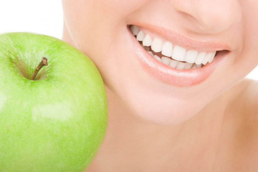 Apples can lead to healthier teeth