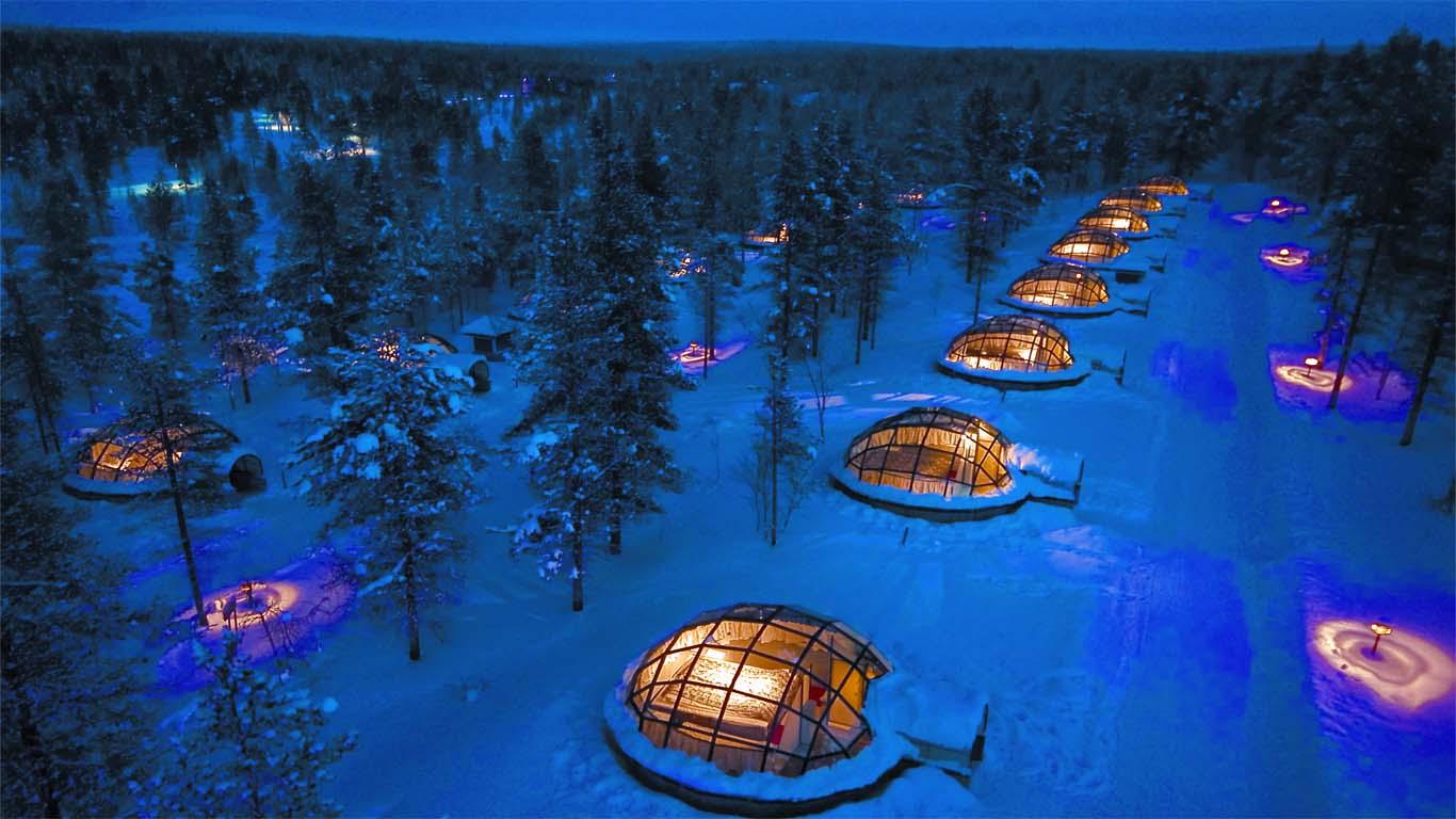 Hotel Kakslauttanen - Saariselka, Finland