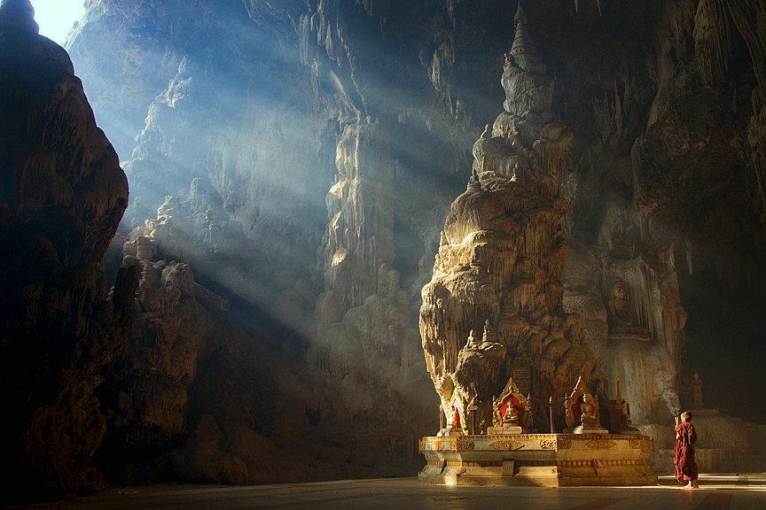 Kyaut Sae Cave - Burma, Myanmar
