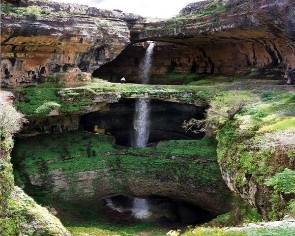 The Cave of Three Bridges - Lebanon
