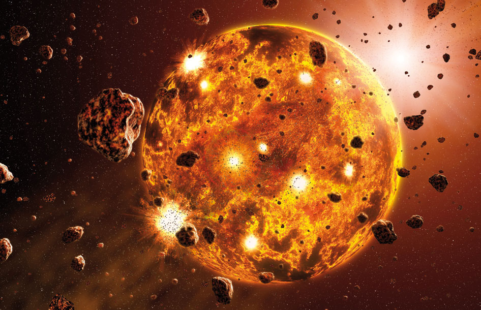 Most gold on Earth arrived via asteroid