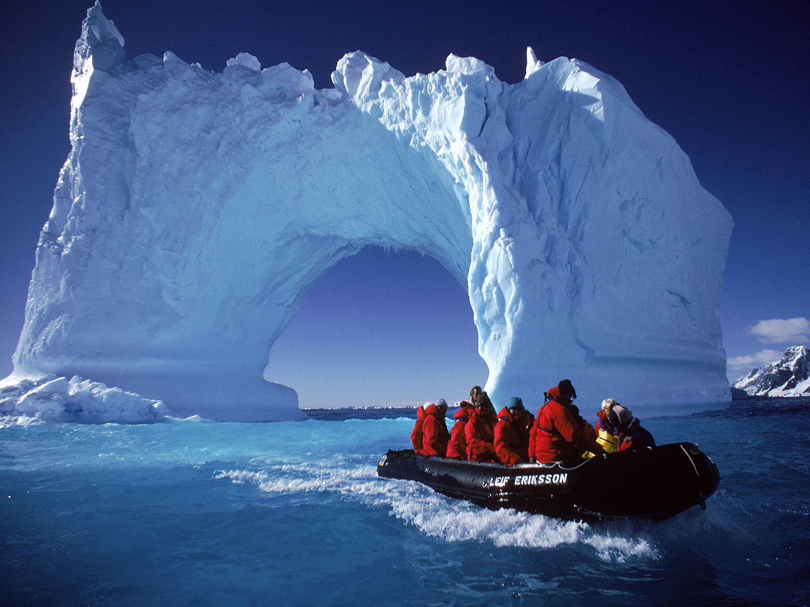 90% of the world's drinkable water is in Antarctica