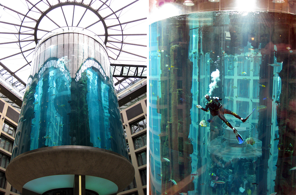 The AquaDom - Berlin, Germany