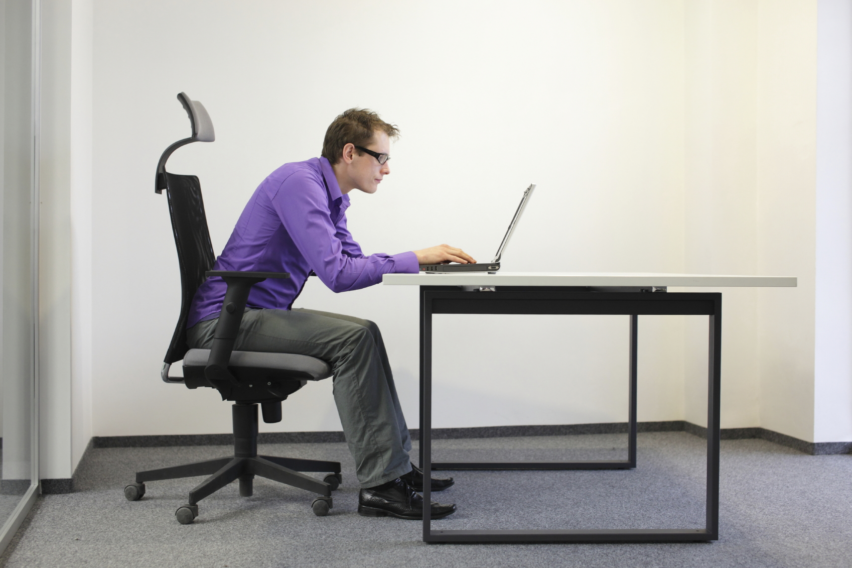 Poor posture will destroy your body