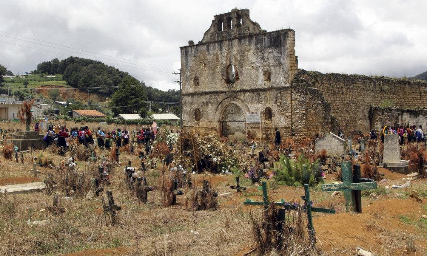 Chamula Cemetery