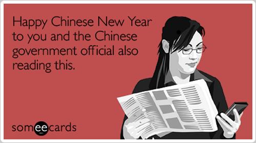 You hear that, Beijing?