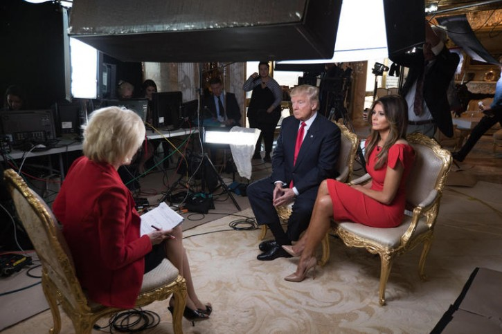 Donald Trump And Soon To Be First Lady Melania Trump