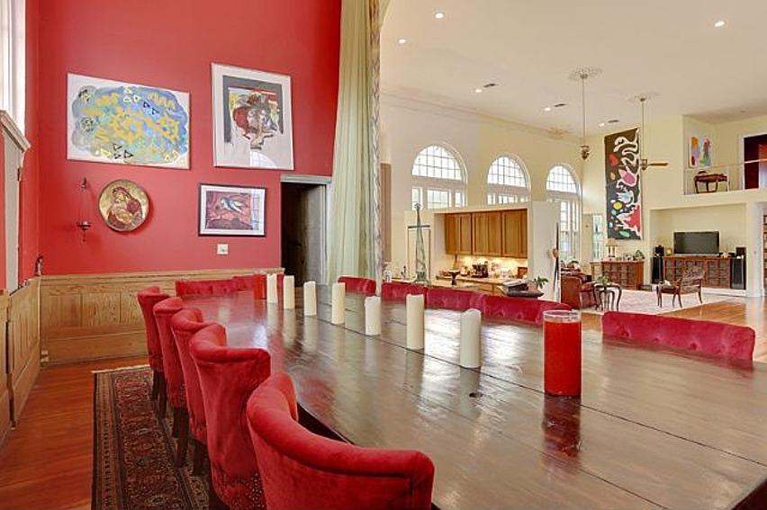Crimson Dining Room