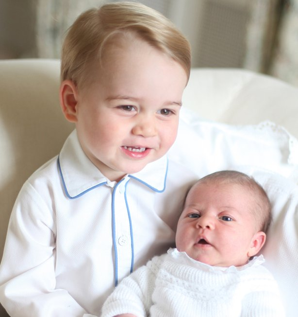 Prince George And P Charlotte