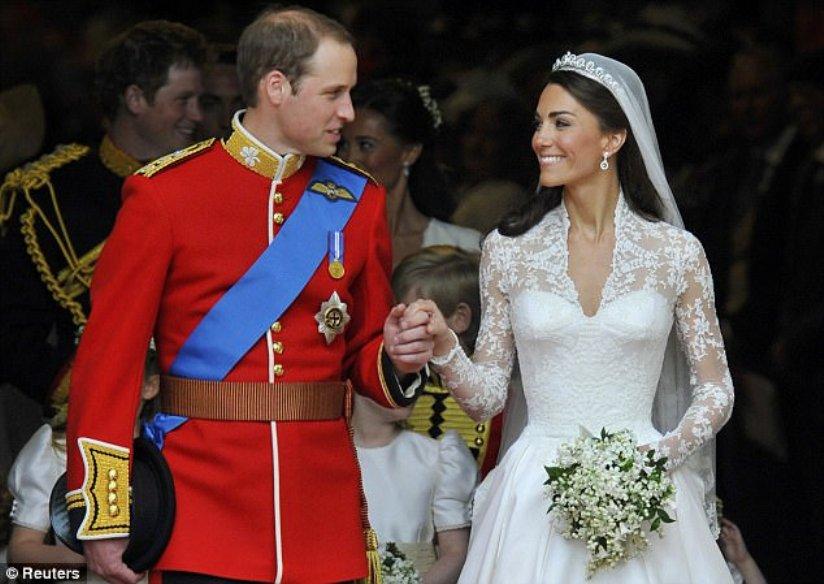 William Marries Kate