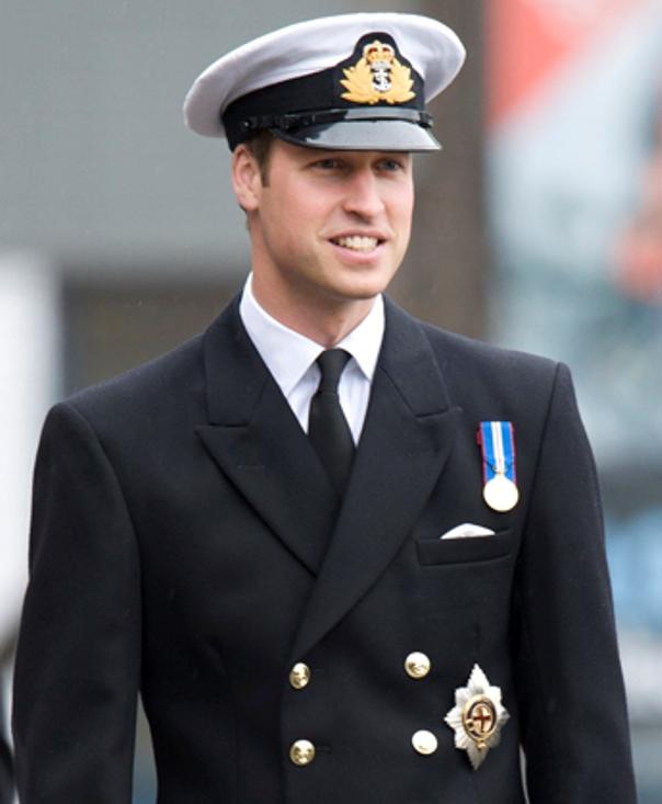 William In Military Uniform