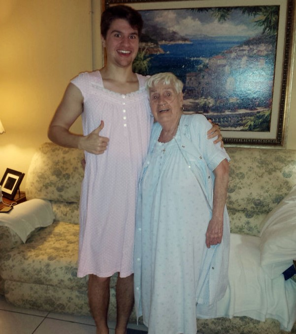Nightgown Grandson