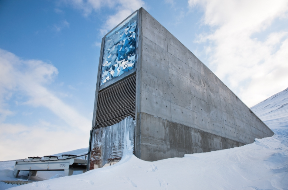 Svalbard Global Seed Vault Norway