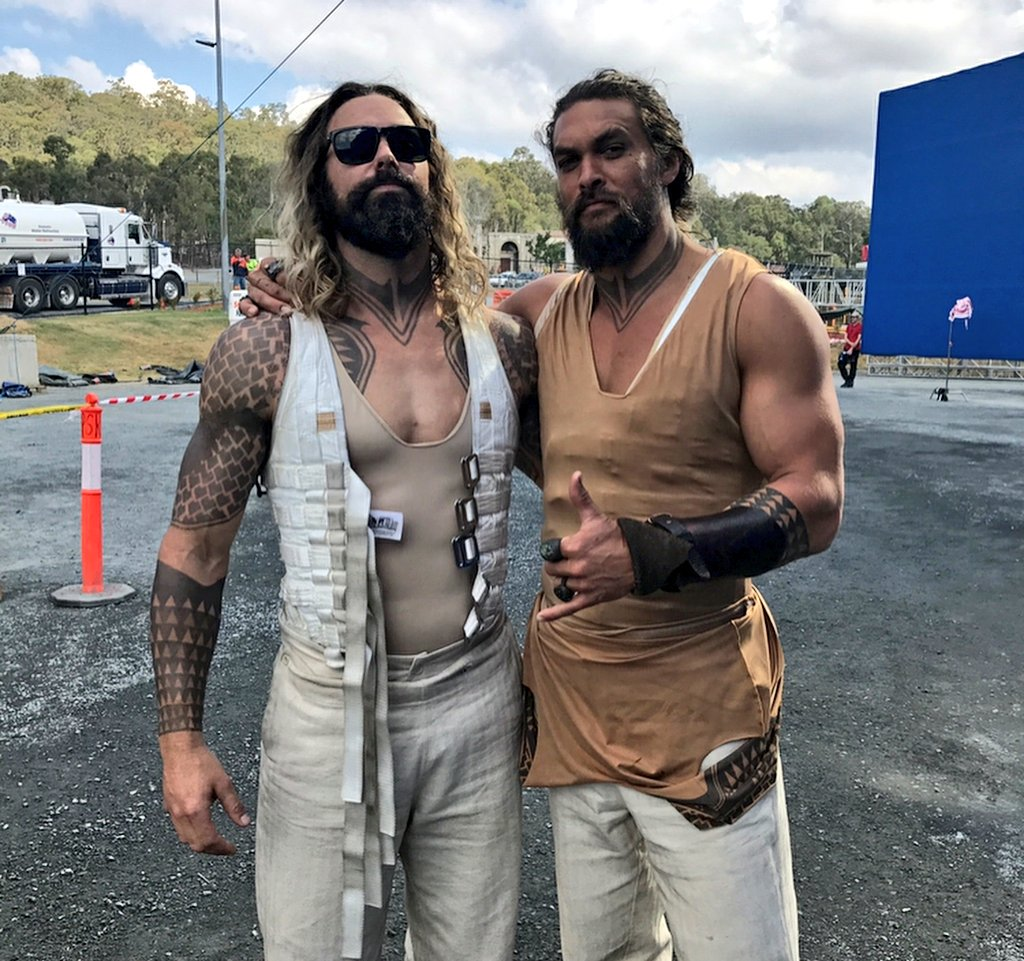 Behind The Scenes: Actors With Their Stunt Doubles