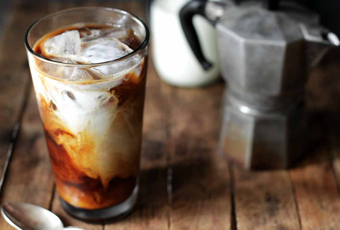 A Cold, Refreshing Iced Coffee