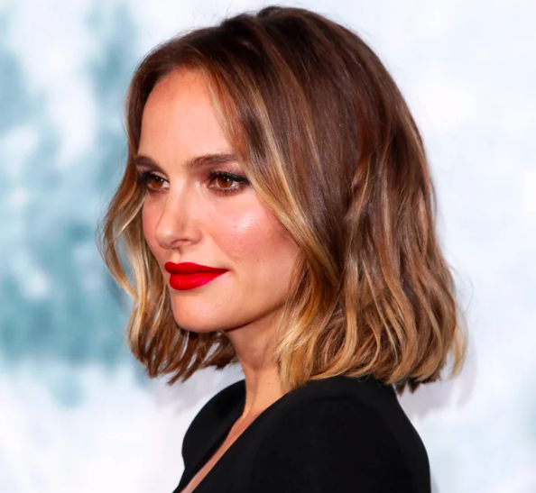 Natalie Portman's Smoky Gold Hair