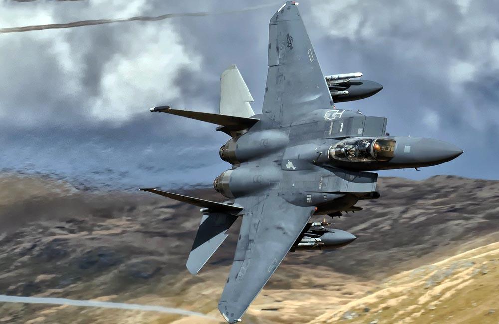 McDonnell Douglas F 15E Strike Eagle