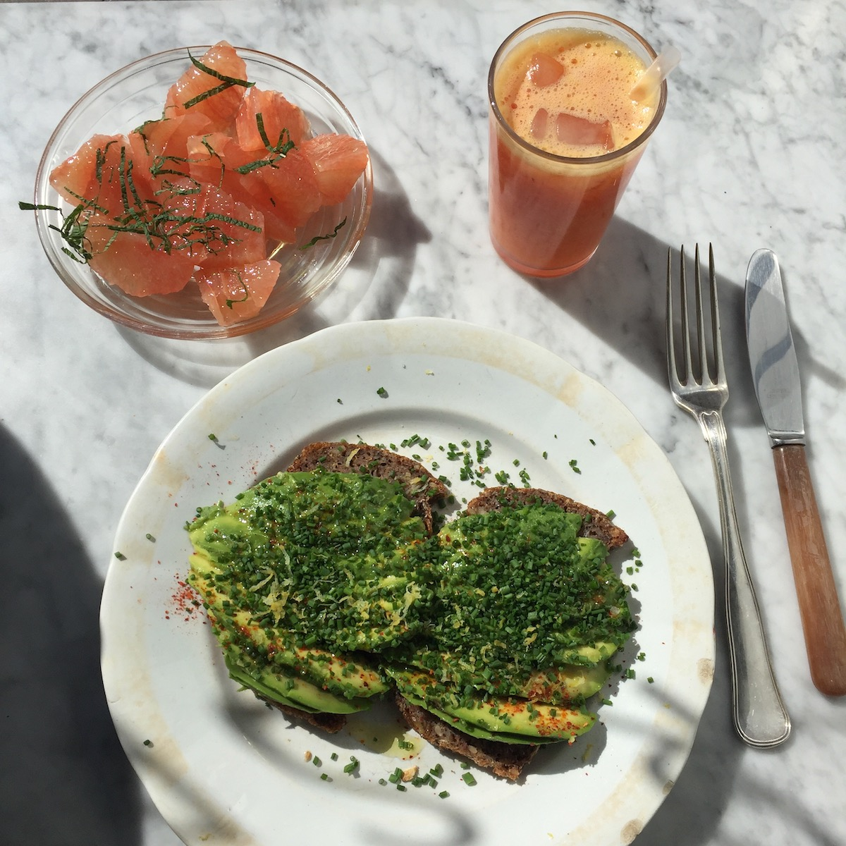 Avocado Toast At Atelier September