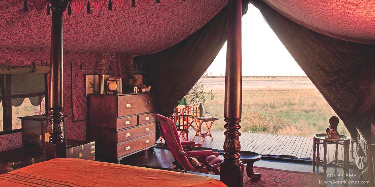 Jack's Camp, Botswana LuxurySafariCamps.com