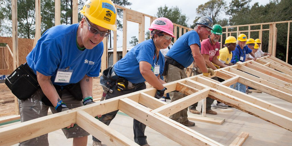 Construction Volunteering