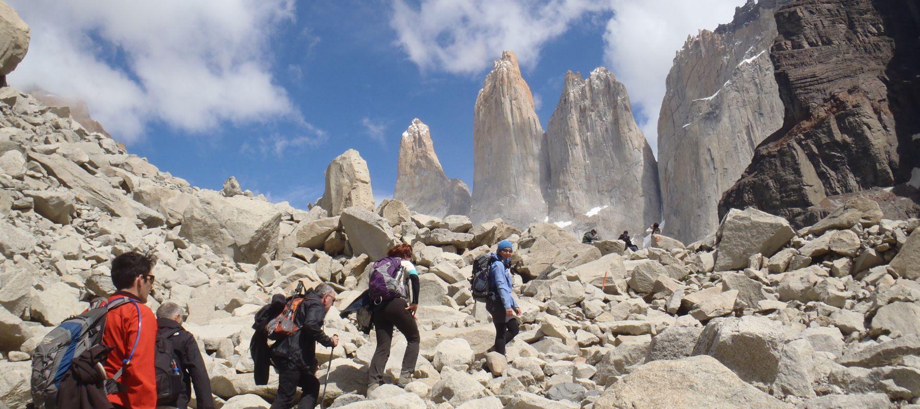Treakking In Torres Del Paine