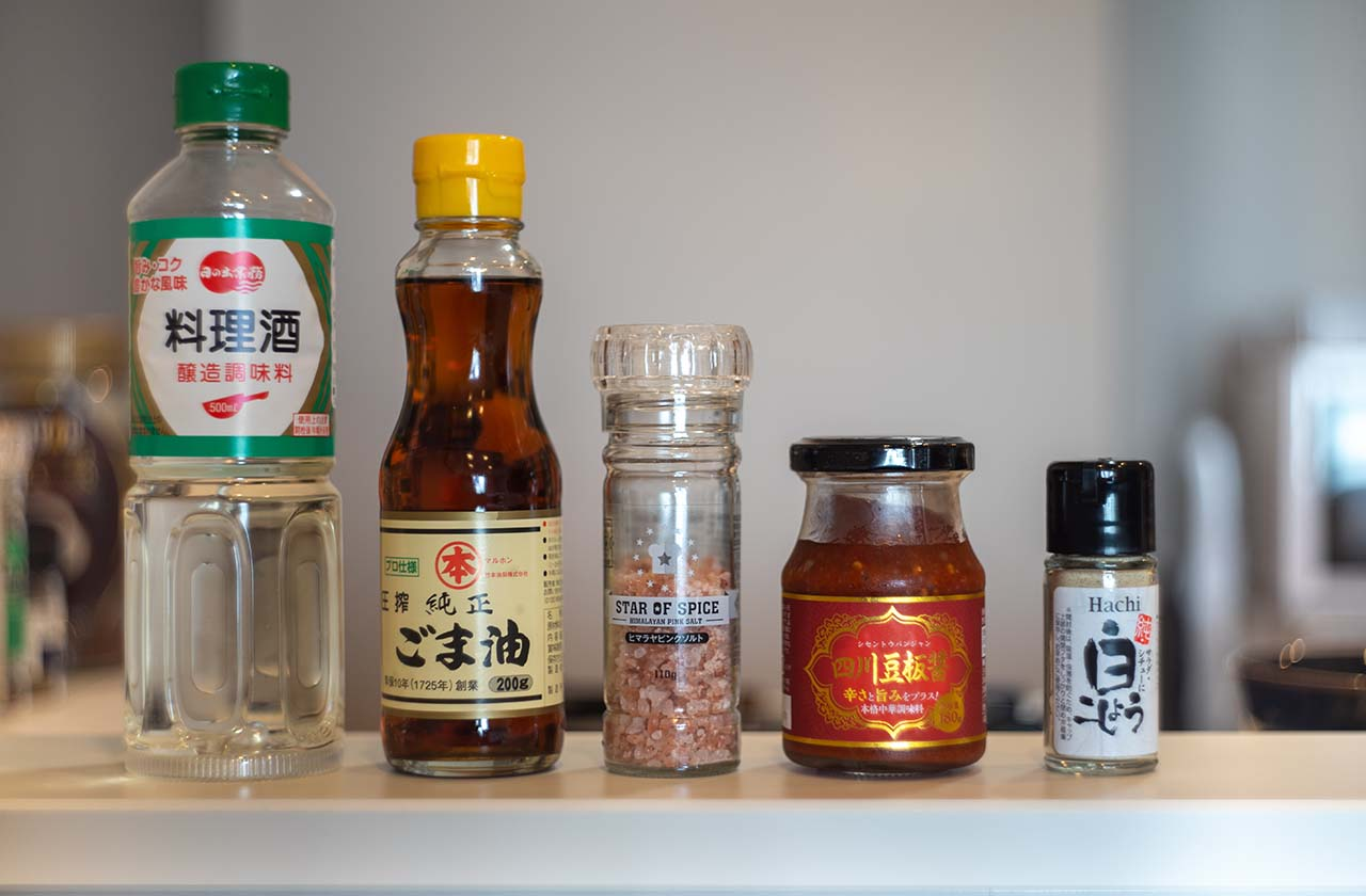 All The Flavor Packing Ingredients