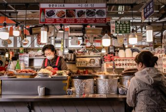 Korean Street Food Market
